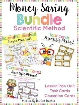 Scientific Method and Process Skills Bundle