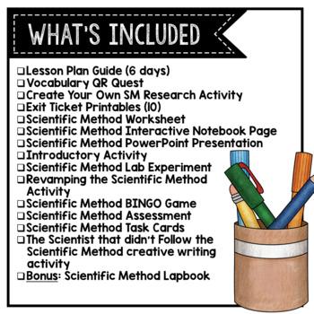 Scientific Method GROWING Bundle!