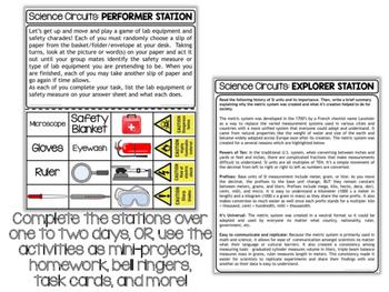 Scientific Method Bundle - Science Centers / Lab Stations