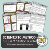 Scientific Method Bundle - STEAM Science Centers / Lab Stations