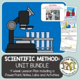Scientific Method & Nature of Science - PowerPoint & Handouts Unit