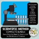Scientific Method - PowerPoint, Handouts, INB, Task Cards, Word Wall