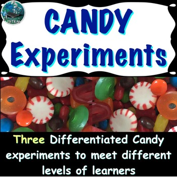Scientific Method Lab: Three differentiated candy experiments