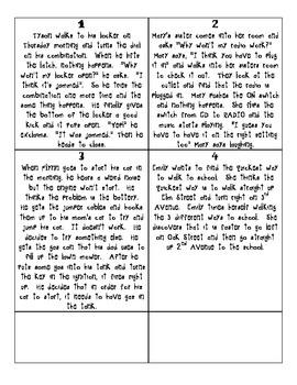 Scientific Method Cards