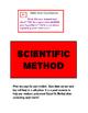 Scientific Method Cards for Third Grade