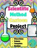 Scientific Method Cartoon Project- Scientific Investigation Printable Activity