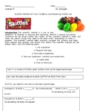Scientific Method Claim Evidence Reasoning with Skittles