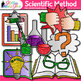 Scientific Method Clip Art {Science Graphics for Inquiry Based Learning}