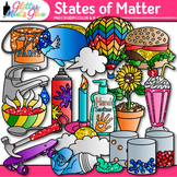 States of Matter Clipart: Solids, Liquids, and Gases {Glitter Meets Glue}