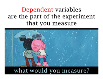 Scientific Method - Controls and Variables