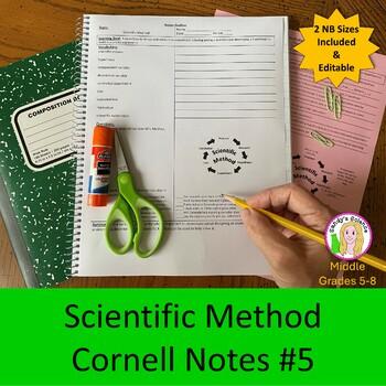 Scientific Method Cornell Notes #5