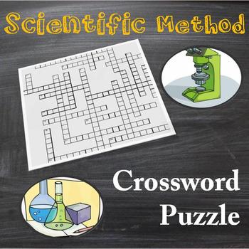 Scientific Method Crossword Puzzle