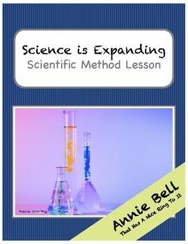 """Scientific Method - """"Science is always expanding"""" - Classwork & Key"""