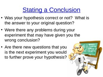 Scientific Method-Design and Implement an Experiment!