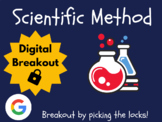 Scientific Method - Digital Breakout! (Escape Room, Brain Break, Back to School)