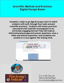 Scientific Method Digital Escape Room