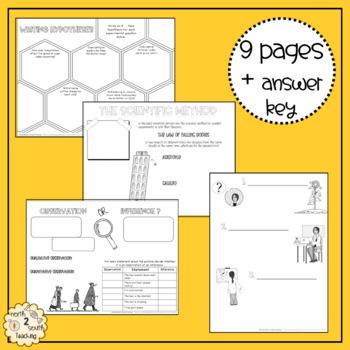 Scientific Method Doodle Notes