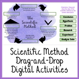 Scientific Method Drag and Drop Activity for Distance Learning