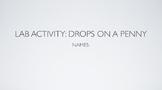 Scientific Method: Drops on a Penny Lab KEYNOTE