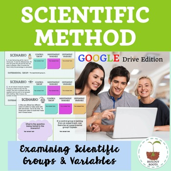 Scientific Method Examining Variables- Digital