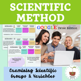 Digital Scientific Method Examining Variables- distance learning