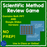 Scientific Method  Jeopardy Style Review Game