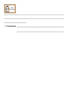 Scientific Method Experiment Sheet