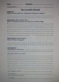 Scientific Method Experiment Sheets