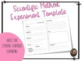 Scientific Method Experiment Template