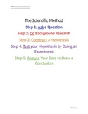 Scientific Method- Experiment and Assessment