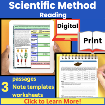 Scientific Method Guided Reading