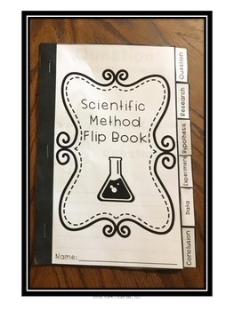 Scientific Method Flip Book-Interactive Notebook