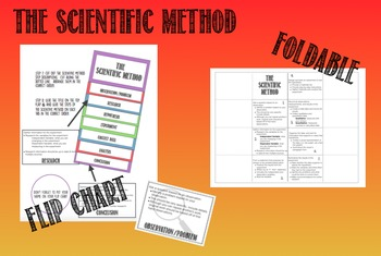 Scientific Method: Flip Chart & Foldable