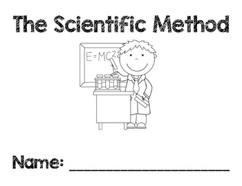 Scientific Method - Flipbook