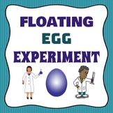 Scientific Method Floating Egg Experiment