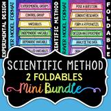 Scientific Method Foldables - Minibundle - Includes 2 Foldables for INBs!
