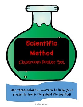 Scientific Method Freebie Poster Set