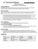 Scientific Method Game Puzzle with Worksheet