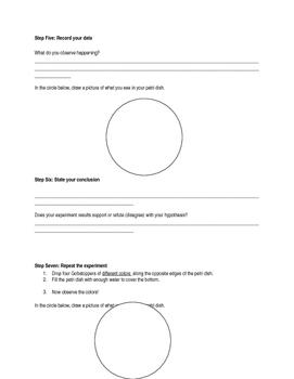Scientific Method Gobstopper Experiment