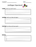 Scientific Method - Gobstopper Experiment Recording Sheet