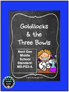 A Heat Transfer Experiment: Goldilocks & the Three Bowls