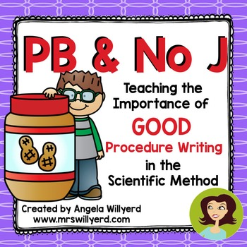 Scientific Method - Good Procedure Writing: PB & No J Demonstration Activity PPT