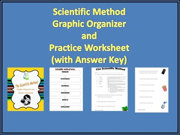 Scientific Method Graphic Organizer & Practice Sheet( with Answer Key)