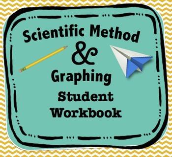 Scientific Method & Graphing Student Workbook/Lab Activity {FREE}
