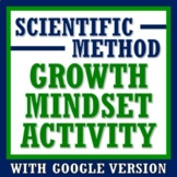 Growth Mindset Activity for Science How Mindset Applies in