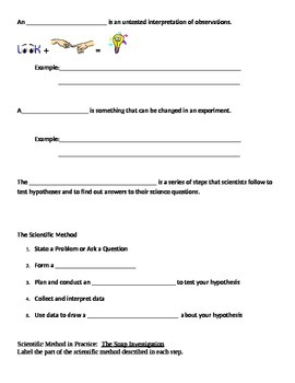 Scientific Method Guided Notes