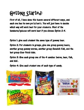 Scientific Method: Gummy Bear Experiment