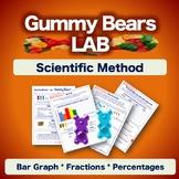 Scientific Method Experiment - Gummy Bears Lab - Worksheets NO PREP