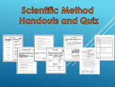 6th Grade Science - Scientific Method Handouts and Quiz