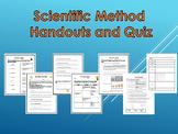 6th Grade Science - Scientific Method Handouts and Quiz